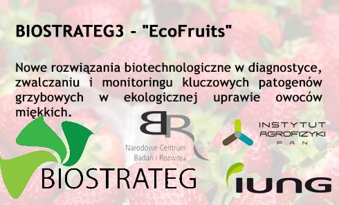 """Projekt BIOSTRATEG – """"EcoFruits"""", IUNG członkiem Konsorcjum"""