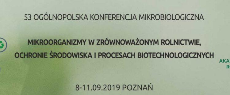 53 Ogólnopolska Konferencja Mikrobiologiczna – zaproszenie