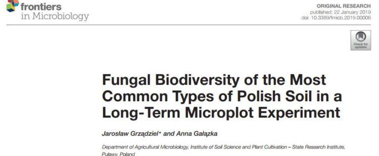 Nowa publikacja w czasopiśmie Frontiers in Microbiology