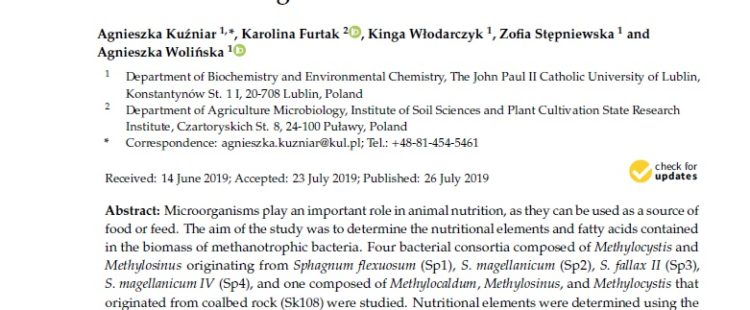 Nowa publikacja w International Journal of Environmental Research and Public Health