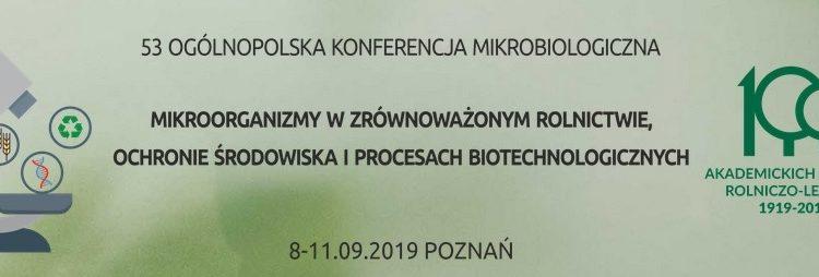 53 Ogólnopolska Konferencja Mikrobiologiczna