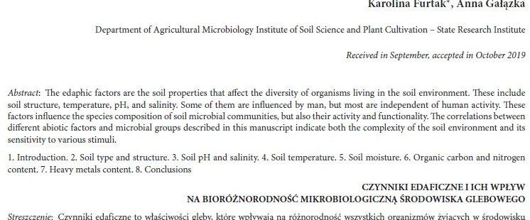 Nowa publikacja w Postępach Mikrobiologii