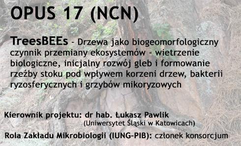 Zakład Mikrobiologii IUNG-PIB członkiem konsorcjum w konkursie OPUS17 (NCN)