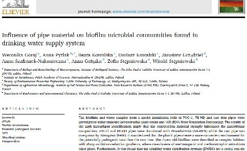 Nowa publikacja w Environmental Research