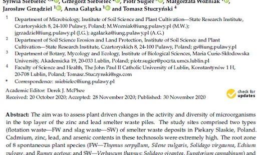 Nowa publikacja w Molecules