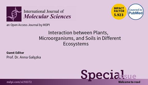 Zapraszamy do współtworzenia numeru specjalnego w czasopiśmie International Journal of Molecular Sciences